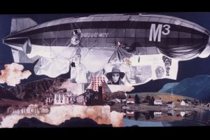 ArchiGram_Instant City Airships