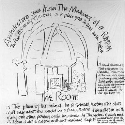 Louis Kahn Sketch